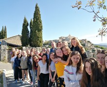 French exchange photo 1