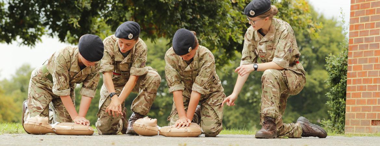 CCF Sergeant Wins National First Aid Award